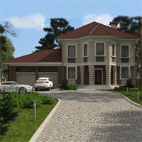 проект дома 16-66 общ. площадь 364,40 м2