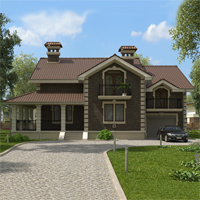 проект дома 16-72 общ. площадь 362,90 м2