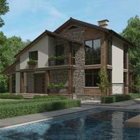 проект дома 16-81 общ. площадь 329,55 м2