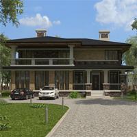 проект дома 15-98 общ. площадь 432,60 м2
