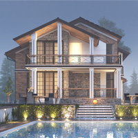 проект дома 15-20 общ. площадь 147,30 м2