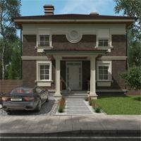 проект дома 15-65 общ. площадь 141,70 м2
