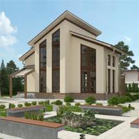 проект дома 14-82 общ. площадь 181,35 м2