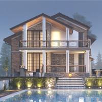 проект дома 15-40 общ. площадь 240,10 м2