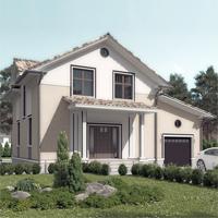 проект дома 15-64 общ. площадь 233,35 м2