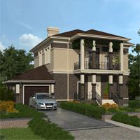 проект дома 15-70 общ. площадь 284,65 м2