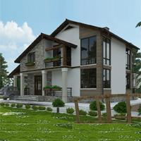 проект дома 14-56 общ. площадь 249,10 м2