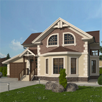проект дома 14-60 общ. площадь 256,05 м2