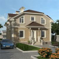 проект дома 14-89 общ. площадь 211,55 м2