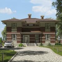 проект дома 17-08 общ. площадь 390,80 м2