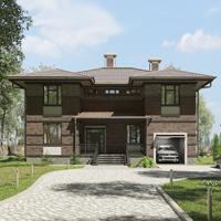 проект дома 17-12 общ. площадь 372,85 м2