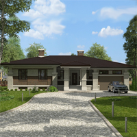 проект дома 14-57 общ. площадь 394,55 м2