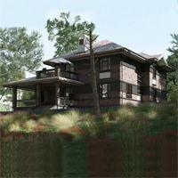 проект дома 14-75 общ. площадь 364,15 м2