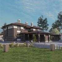 проект дома 17-18 общ. площадь 498,25 м2