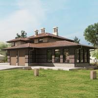 проект дома 17-13 общ. площадь 508,60 м2
