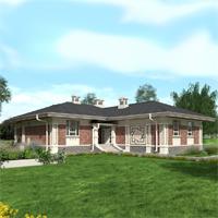 проект дома 13-40 общ. площадь 173,10 м2