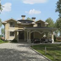 проект дома 17-60 общ. площадь 391,35 м2