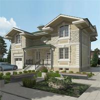 проект дома 17-62 общ. площадь 369,15 м2