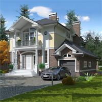 проект дома 16-82 общ. площадь 246,65 м2