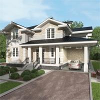 проект дома 17-56 общ. площадь 307,70 м2