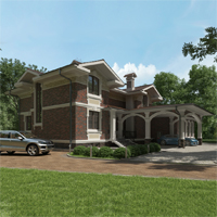 проект дома 17-75 общ. площадь 517,95 м2