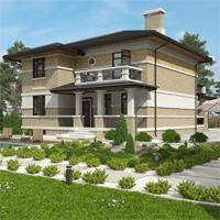 проект дома 14-63 общ. площадь 324,00 м2