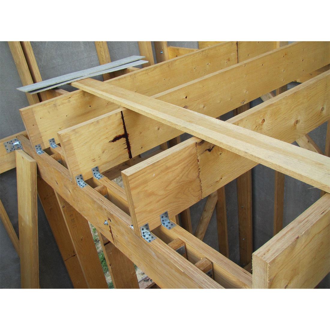 Стропильная система двухскатной крыши своими руками 24