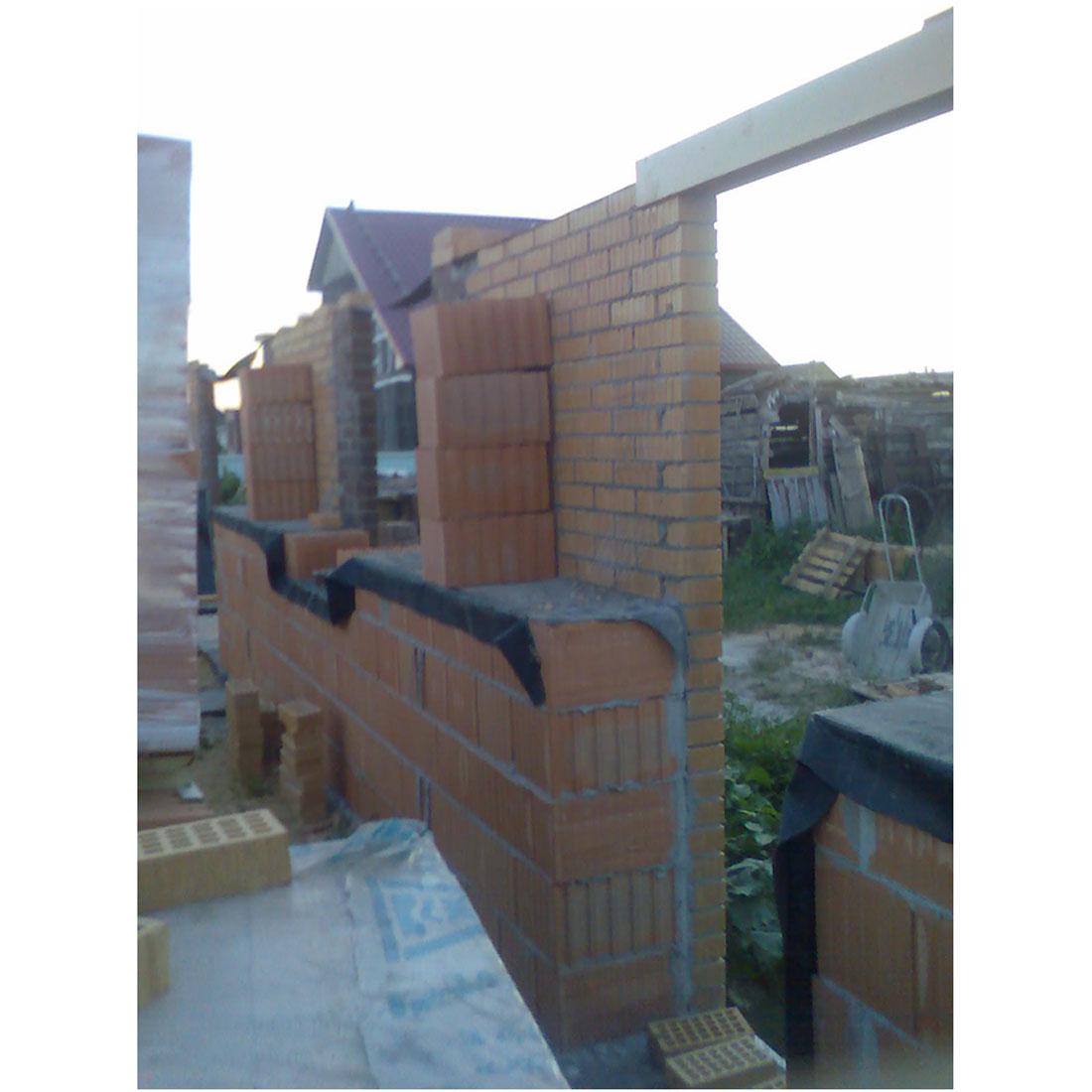 Строительство дома из теплой керамики своими руками 99