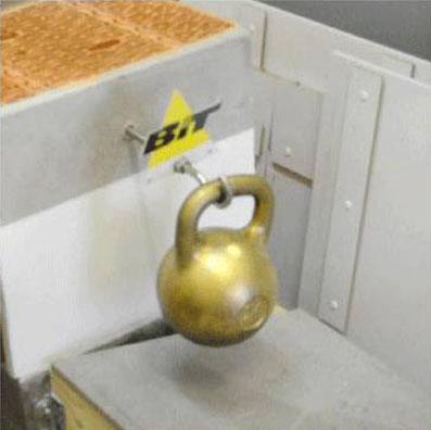 Крепление в теплой керамике ответственных конструкций с помощью химических анкеров