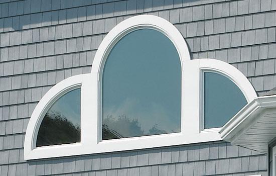 Как сделать арочное окно из сайдинга